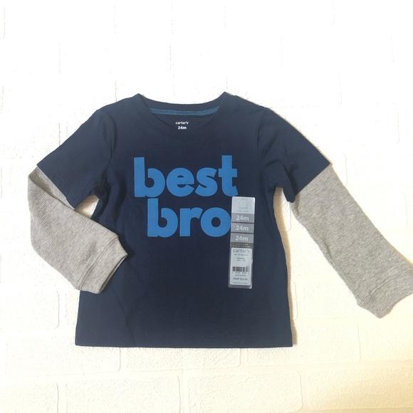Carter's Other - NWT Carter's Best Bro Shirt